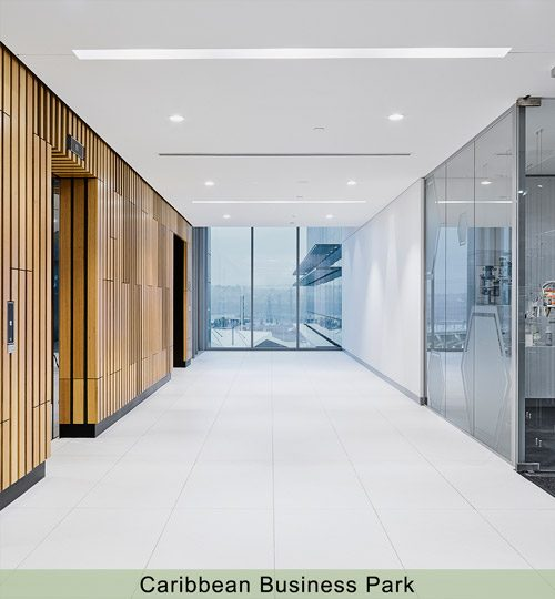 Caribbean-Business-Park-Lift-Lobby